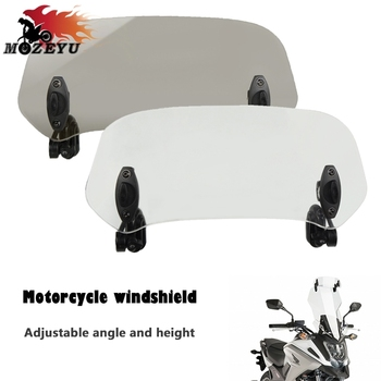 2019 New Motorcycle Adjustable Windshield Extension Wind Deflector For BMW F800ST F800S F800GT F800GS F800GS AdventuRe F700GS image