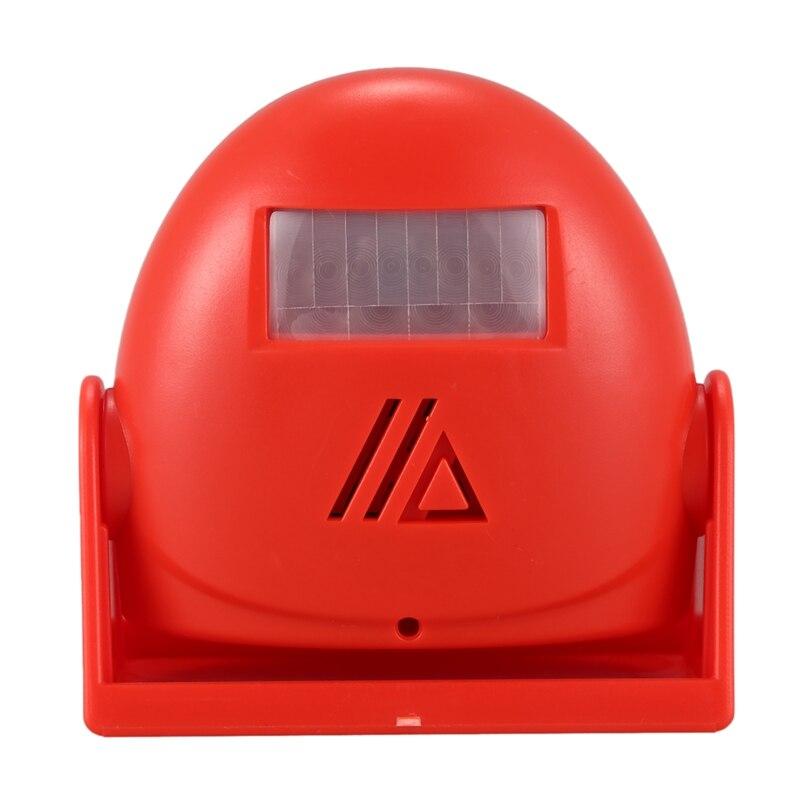 AMS-Smart Home Infrared Sensor Welcome Doorbell Electronic Welcome Doorbells Device Modern House Door Bell
