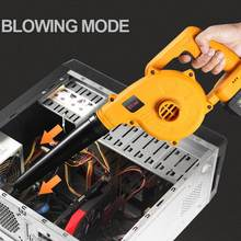 Electric Air Blower Cordless Handheld Leaf Computer Dust Collector Rechargeable Power Tool Cleaner For Makita 18V Battery