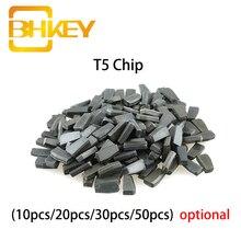 keyyou 10x car key glass transponder id48 id 48 chip t6 crypto unlocked chip for vw audi seat skoda porsche BHKEY Transponder Chip T5 for Car Key Cemamic Blank T5 Chip Ceramic Not Coded New ID T5-20 Chip 10X 20X 30X 50X