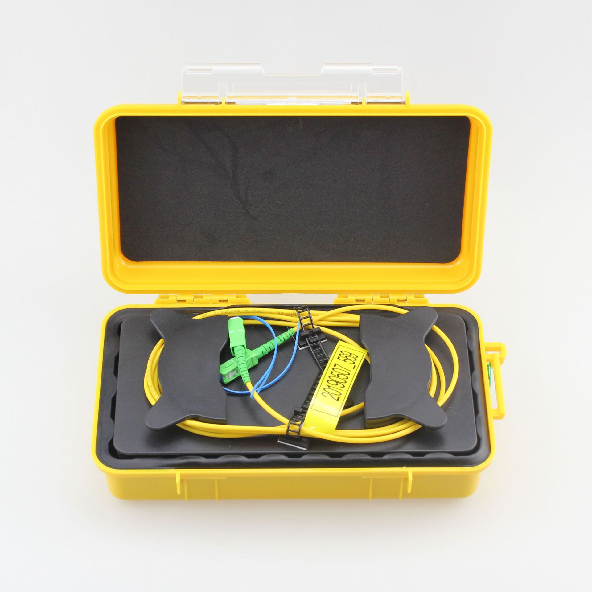 SC/APC-SC/APC OTDR Dead Zone Eliminator,Fiber Rings ,Fiber Optic OTDR Launch Cable Box 1km SM 1310/1550nm Free Shipping
