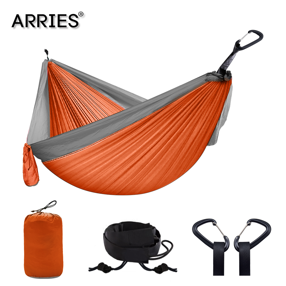 Hiking Camping 300*200cm Hammock Portable Nylon Safety Parachute Hamac Hanging Chair Swing Outdoor Double Person Leisure Hamak