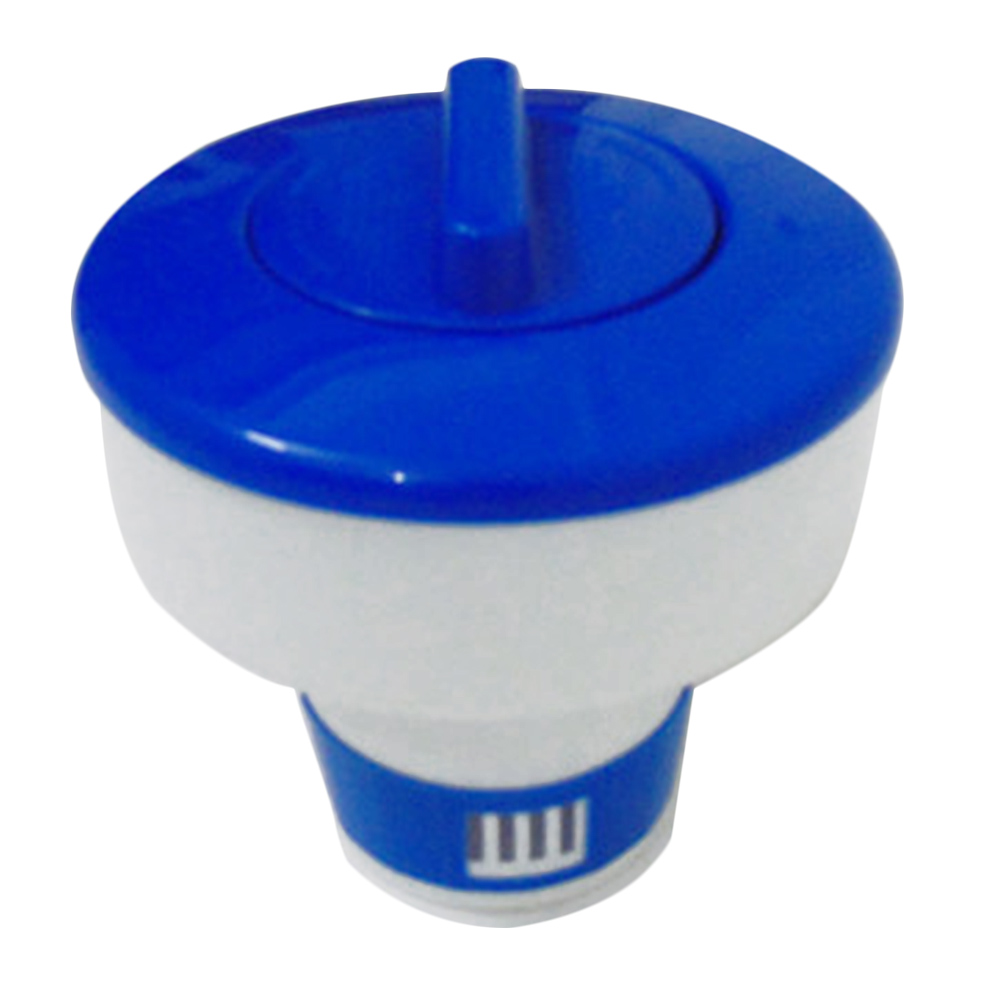 Hot Selling 5 Inch 8 Inch  Large Blue And White Floating Swimming Pool Chlorine Dispenser