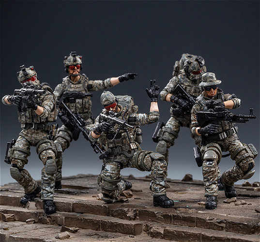JOYTOY 1/18 USMC Specia Force Collection Action Figure voor Fans Holiday Gift
