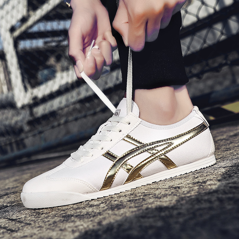 2020 New High Quality 36-44 Men's Shoes Women's Shoes Couple Shoes Fashion Shoes Sneakers Forrest Shoes Tiger Tennis