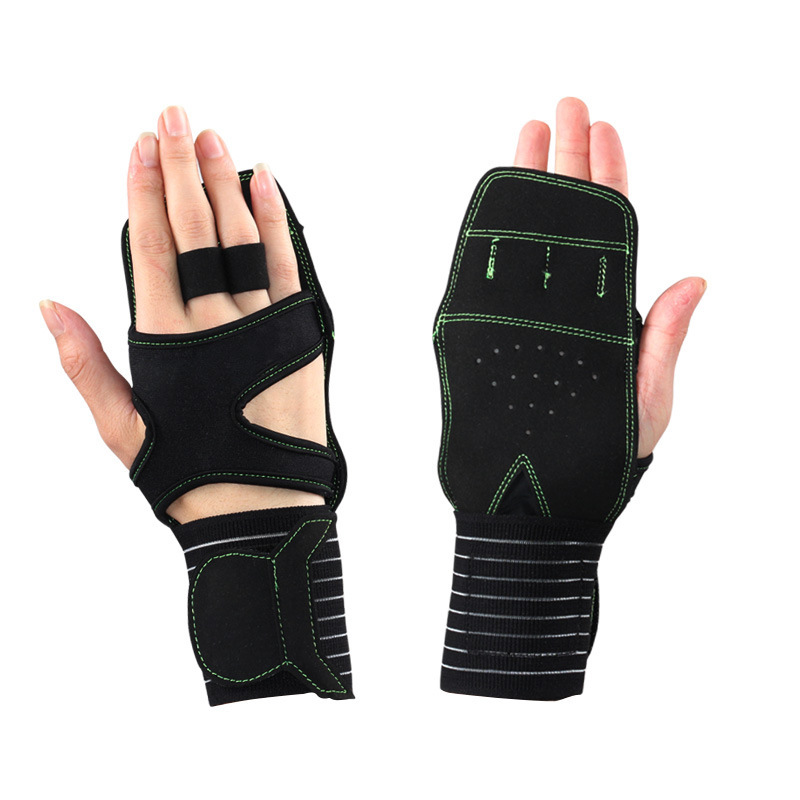 New Style Fitness Gloves Half Finger Anti-slip Wear-Resistant Breathable Palm Men And Women Sports Weightlifting Training Gloves