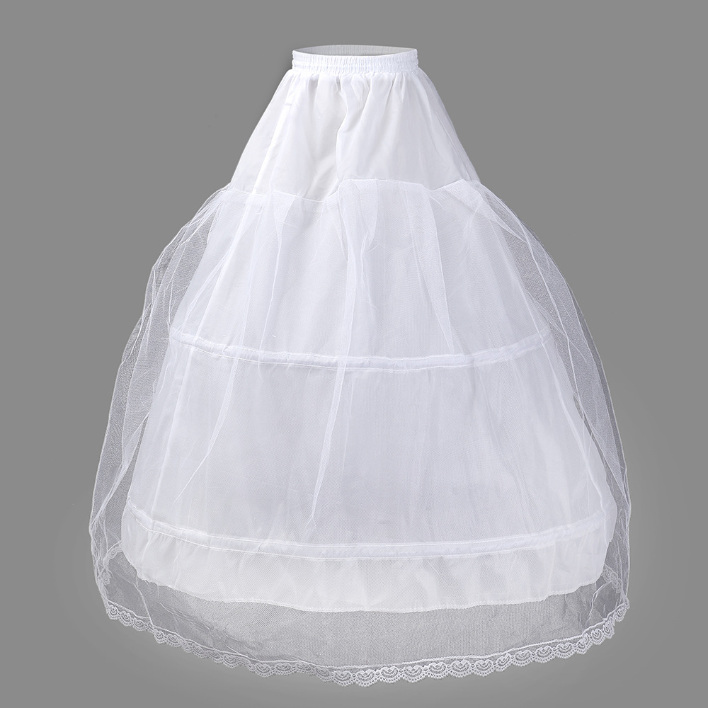 Crinoline Two Circle A Voile Lace Wedding Dress Ying Wang Crinoline Performance Crinoline