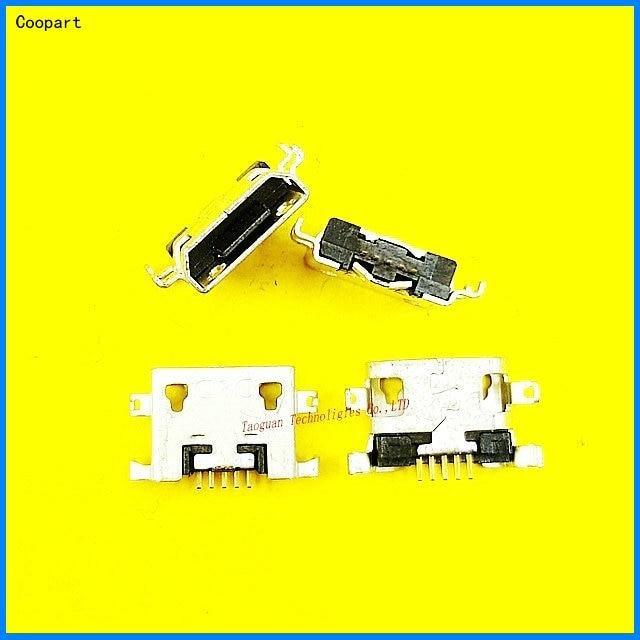 2pcs/lot Coopart New USB Charging Port Dock Connector For Lenovo Yoga 8 / Tablet 10 B8000 / A820 A278T A765e S890 S6000 S6000-F