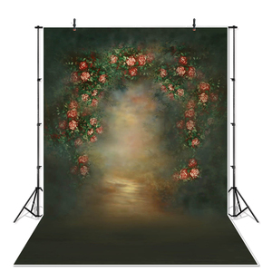 Image 4 - NeoBack printemps Vintage classique fleur nouveau né bébé Photocall toile de fond Studio professionnel grands fonds de photographie en Stock