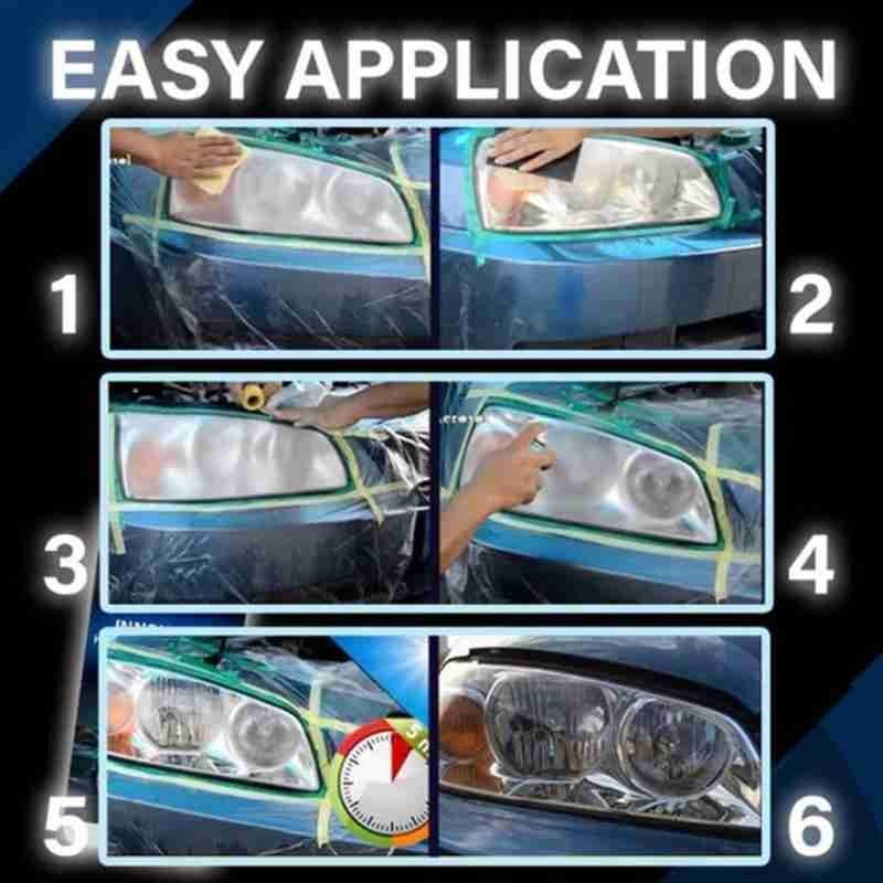 Headlight Repair Polish