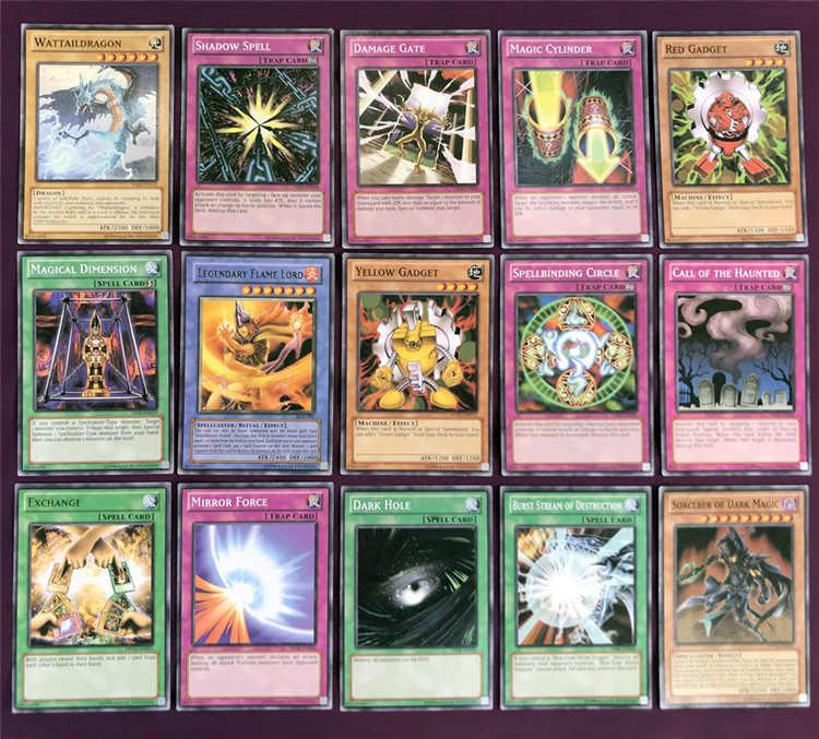 Yu-gi-oh 66 pces conjunto cartões deus egípcio brinquedos colecionáveis para o menino yu gi oh lendário jogo de tabuleiro cartões de coleção com caixa de metal