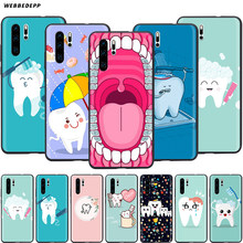 Webbedepp Dokter Tandarts Tand Case Voor Huawei Honor 6A 7A 7C 7X8 8X 8C 9 9X10 20 Lite Pro Note View(China)