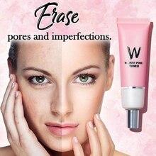 Wlab W-Airfit праймер для пор, тональный крем, Осветляющий лицо, гладкий Невидимый поры, корейская косметика, Vip Ссылка для Бразилии