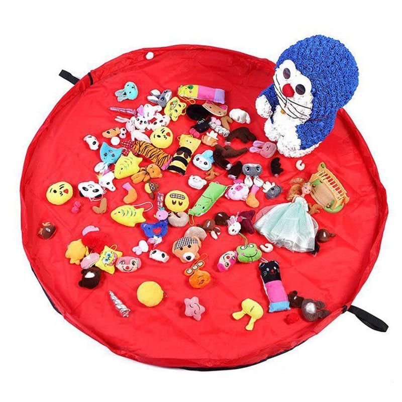 Vogvigo 50cm/150 Cm Portable Kids Toy Storage Bag And Play Mat Lego Toys Organizer Bin Box  Fashion Practical Storage Bags