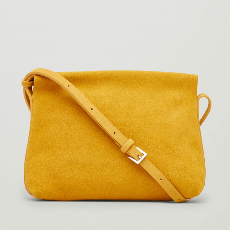 Suede   High quality Women Handbag Famous Luxury Brand Designer Yellow Matte Soft   Leather   Bag Female Shoulder Messenger Bag