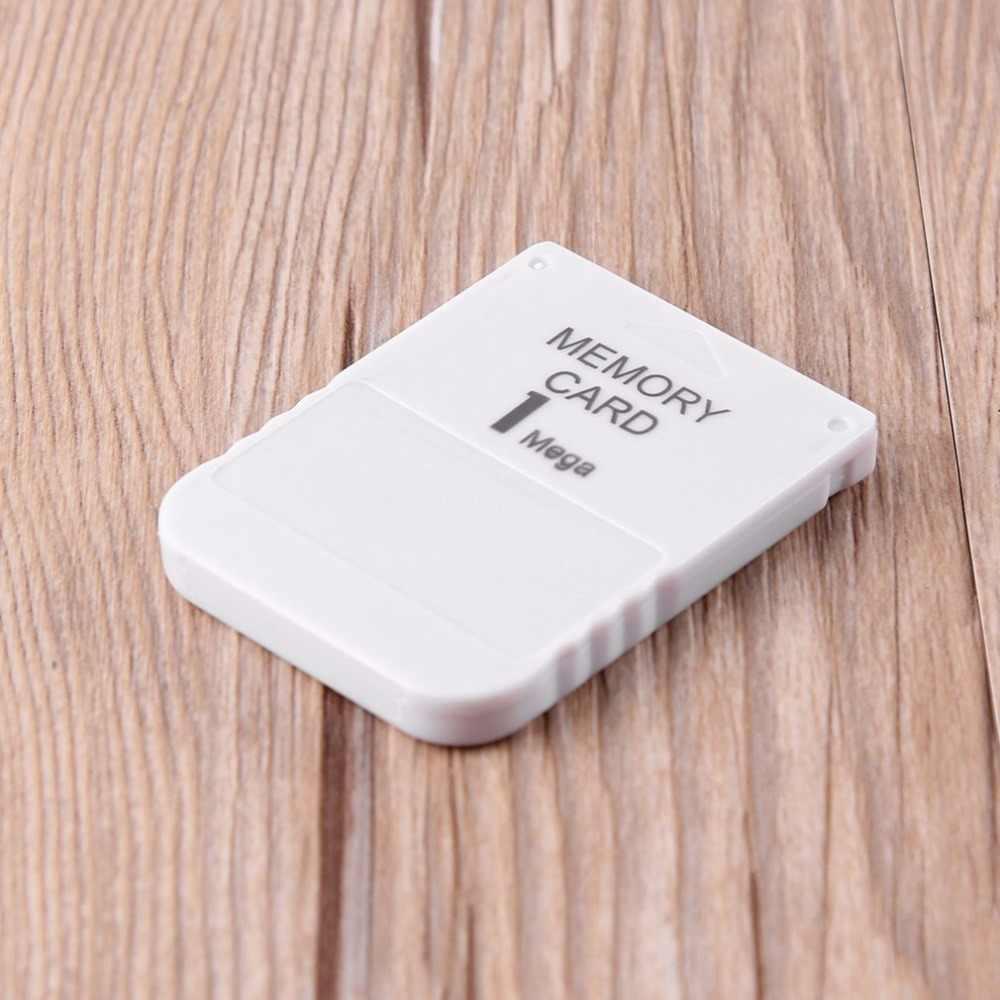 1MB 게임 모듈 전문 어댑터 스토리지 내구성 플러그 데이터 저장 PS1 메모리 카드 용 미니 고속 메모리 카드