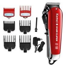 Cordless magia tagliatore di capelli professionale del barbiere capelli trimmer uomini barba elettrico di taglio di capelli macchina di taglio taglio di capelli regolabile