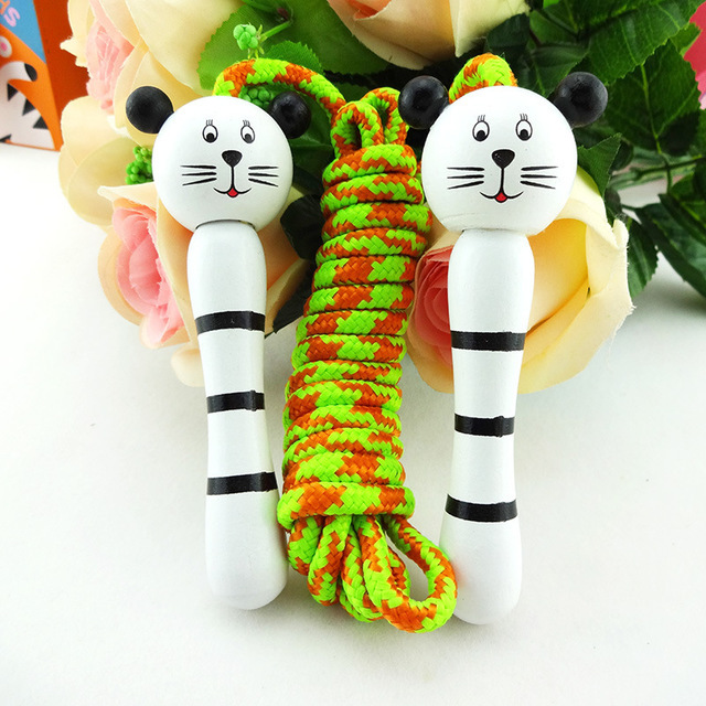 Kindergarten Kids Jump Rope Animal Head Children Young STUDENT'S Toy Sports Game Cartoon Fitness Jump Rope