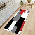 Современный кухонный коврик с длинной полосой для спальни  входной коврик для двери  3D Рисунок  домашний пол  украшение для гостиной  ковер д...