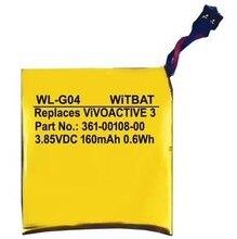 WiTBAT WL-G04 ViVOACTIVE 3 Garmin 361-00108-00 NL28LL31B03OC BATERIA 160MAH