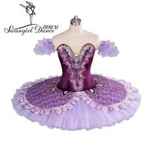 2015 New Arrival!professional tutu in purple,adult classical ballet  for girls,tutu dance dress BT9063