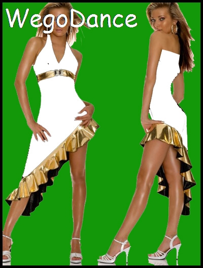 Sexy Latin Dance Dress For Women Practice Costume