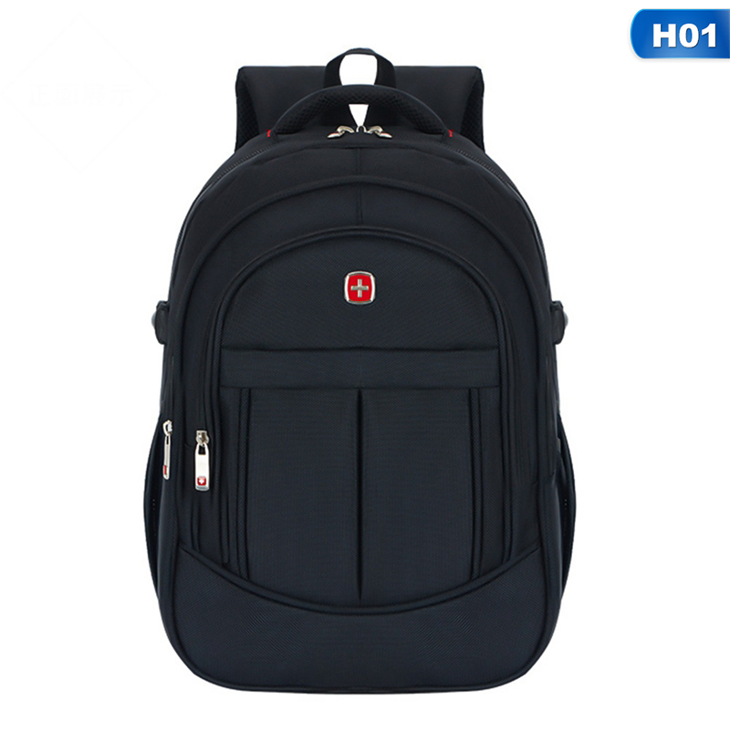 1 PC Oxford Cloth Backpack Women Men Large Capacity Multifunctional Sports Schoolbag Laptop Bag Backpack Leisure Travel Bag