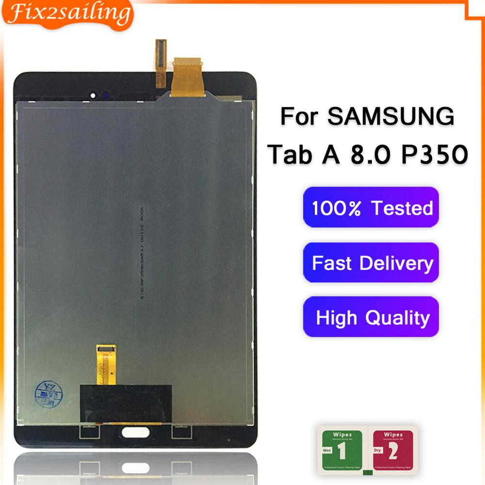 LCD SCREEN DIGITIZER TOUCH ASSEMBLY For Samsung Galaxy Tab A 8.0 P350 SM-P350 US