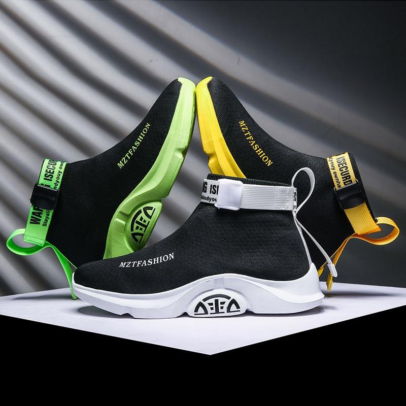 BIGFIRSE Men Casual Shoes Fashion Comfortable Men Shoes Brand Breathable Men Sneakers Outdoor Walking Footwear Zapatillas Hombre