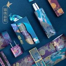 Summer Palace Series Prospects Tape Handbook Diary Lipstick Decoration Delicate washi tape set  masking foil