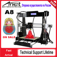 ANET A8 Table level Creality 3D printer/ print size 220*220*240/ABS PLA./Good service/ Free Shipping from Moscow