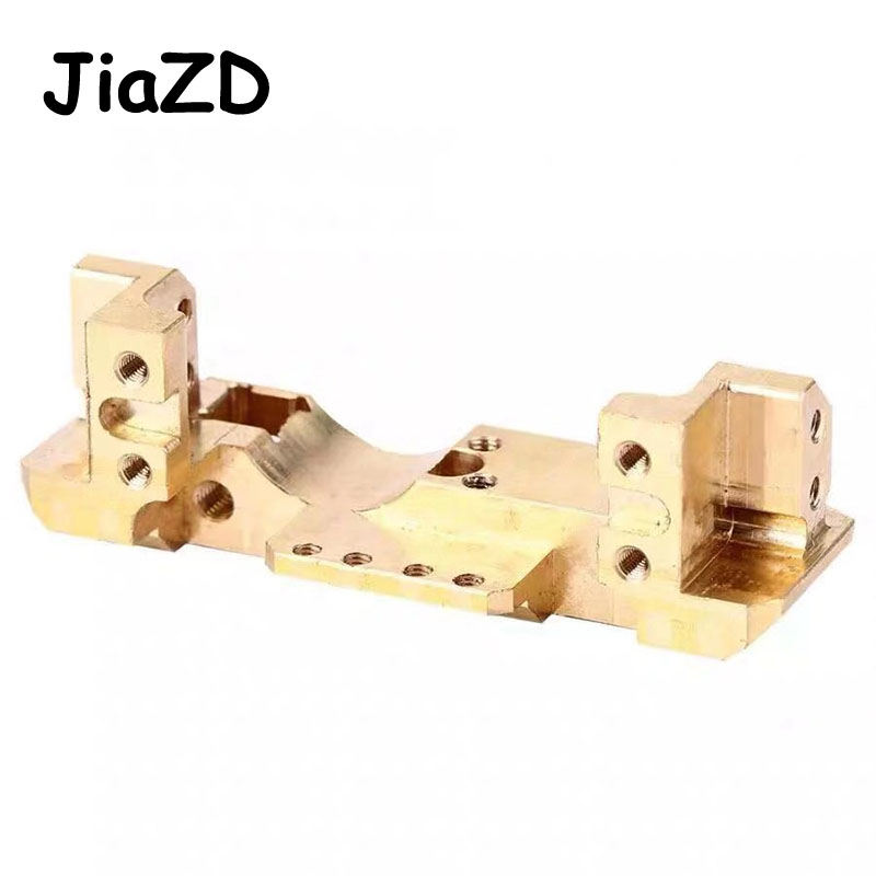 Image 3 - 1PCS TRX4 Brass Front Bumper with Servo Mount 114g for RC Car Traxxas TRX 4 1/10 Scale and Trail Crawler Parts A11Parts & Accessories   -