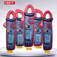 Medidor de tensão atual da c.a./c.c. do medidor UNI T ut210a/b/c/d/e da braçadeira de digitas