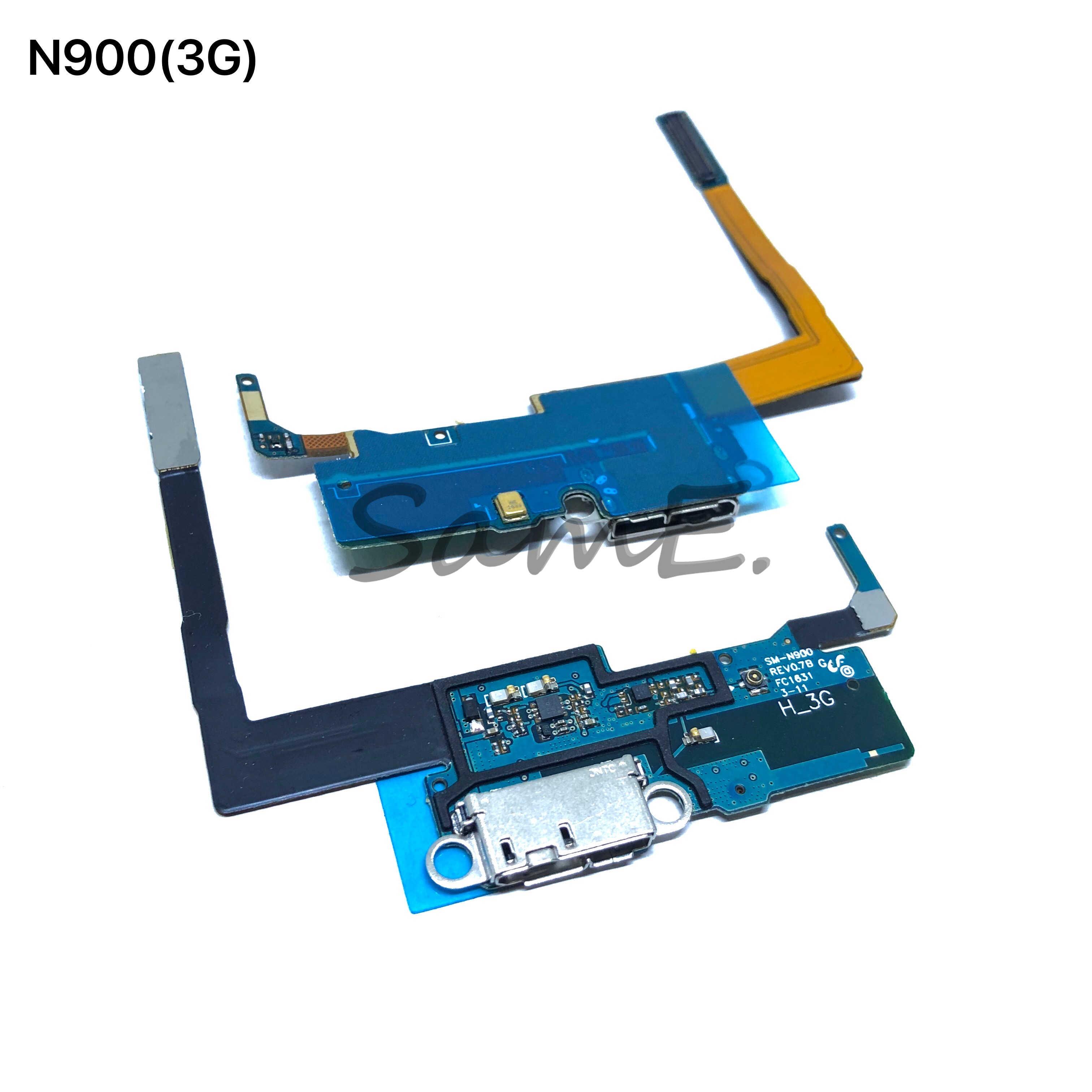 Port Pengisian USB Charger Dock Konektor Kabel Fleksibel untuk Samsung Note2 N7100 N7105 I317 Note3 N900 N9005 N900A N900V