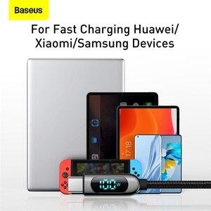 Baseus 100 Вт USB Type C к USBC PD кабель для Xiaomi Samsung Быстрое Зарядное устройство USB C кабель для Macbook iPad Pro планшета ноутбука провод шнур Кабели для мобильных телефонов      АлиЭкспресс