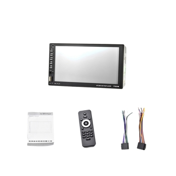 7inch Car Stereo 2 Din HD Bluetooth MP5 Video Digital Player Support D-Bus Mirror Link Wireless Remote Control Hands Free Multim