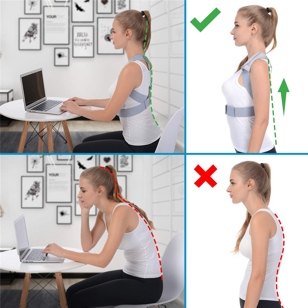 Adjustable Posture Corrector Belt for Clavicle and Spine Support Helps to Relief Back Pain Suitable for Unisex 7