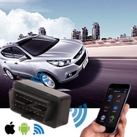 New Mini WIFI ELM327 ElM 327 Wi-Fi V1.5 OBD2 II Car Diagnostic Tool OBD 2 Scanner Interface Supports Android/iOS/Windows