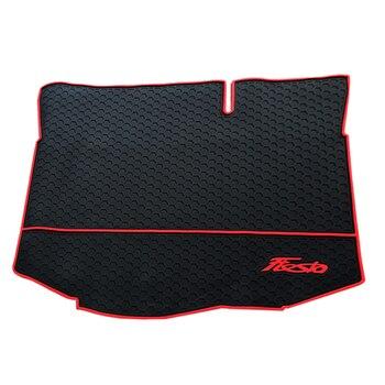 No Odor Waterproof Green Non Slip Rubber Durable Car Trunk Mats for Ford Fiesta