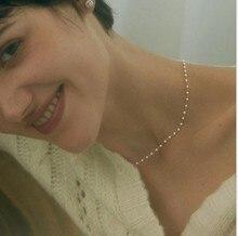 Collier ras du cou en perles pour femmes, 15 styles, Simple, chaîne de perles, feuille de cristal, gland, mode, bijoux sexuels, accessoires de bal