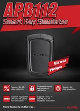 AUTEL APB112 Smart Key Simulator Work with Autel MaxiIM IM508 IM608