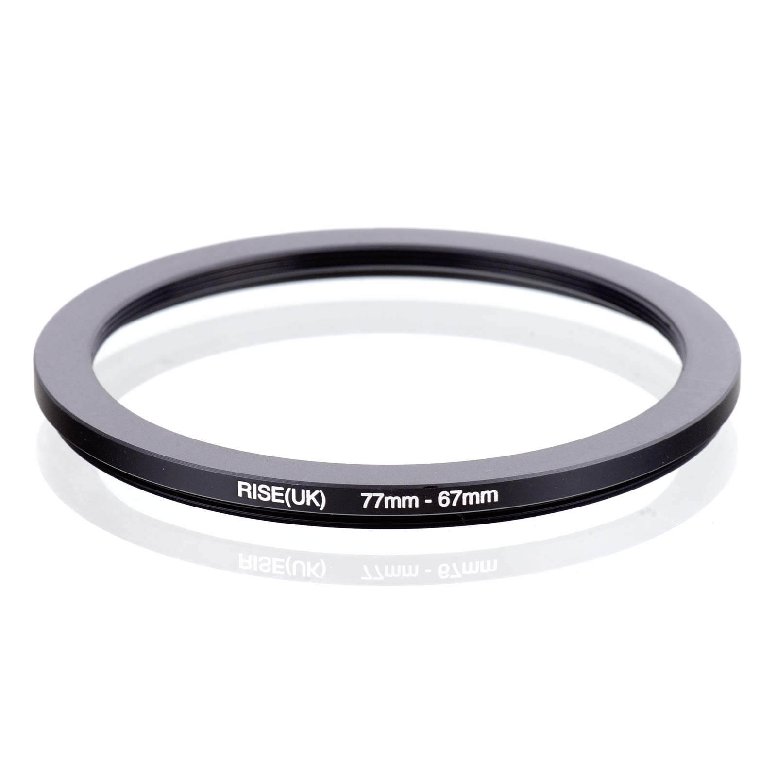 RISE(UK) 77mm-67mm 77-67 Mm 77 To 67 Step Down Filter Ring Adapter
