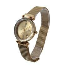 Женские кварцевые часы varledo с магнитной сеткой и пряжкой