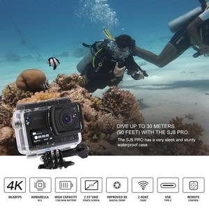Image 2 - SJCAM SJ8 Pro Action Camera 4K 60FPS WiFi Remote Helmet Camera Ambarella Chipset 4K@60FPS Ultra HD Extreme Sports DV Camera