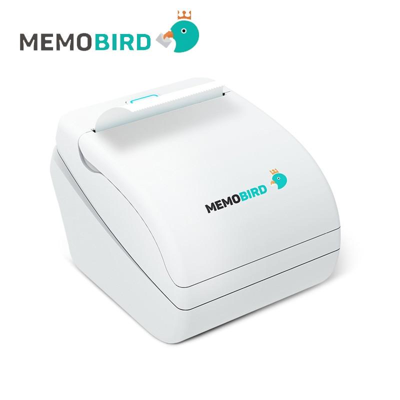 Impresoras Memobird G1 Nuevas impresoras térmicas Impresoras de códigos de barras Impresoras inalámbricas de fotos de teléfonos remotos inalámbricos en cualquier idioma