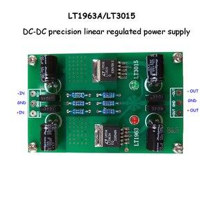 Image 2 - LT1963A LT3015 חיובי ושלילי מתח DC DC דיוק רעש נמוך ליניארי מוסדר אספקת חשמל עבור Preamp DAC