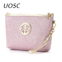 UOSC New Women Cosmetic Bag Travel Make Up Bags Fashion Ladi