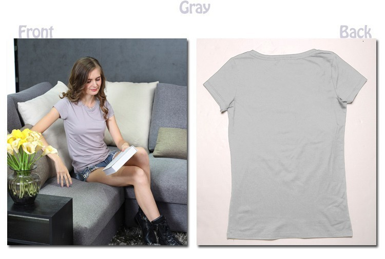 High Quality 18 Color S-3XL Plain T Shirt Women Cotton Elastic Basic T-shirts Female Casual Tops Short Sleeve T-shirt Women 002 15
