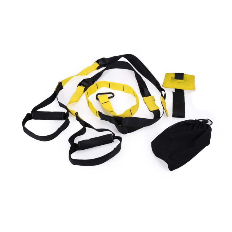 Эспандеры Фитнес оборудование дверное крепление тренировки подвесной Мощность тренировочный ремень мышцы силовой тренажер для домашнего ...