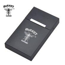 Hornet tehlike alüminyum sigara durumda kapak 16MM * 60MM * 105MM ince sigara durumda tutucu sert metal tütün kutusu kılıf kapak